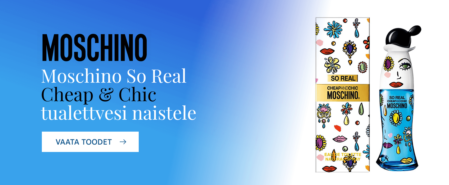 Moschino So Real Cheap & Chic EDT