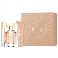 Hugo Boss The Scent For Her komplekt (EDP 50ml + EDP 7.4ml + BLO 50ml)