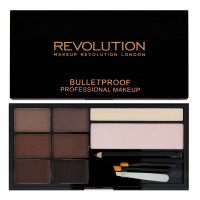Makeup Revolution London Ultra Brow kulmupuudri komplekt, Medium To Dark (18.98 g)