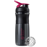 BlenderBottle Sportmixer Grip šeiker-joogipudel, Black-a-Pink (820 ml)