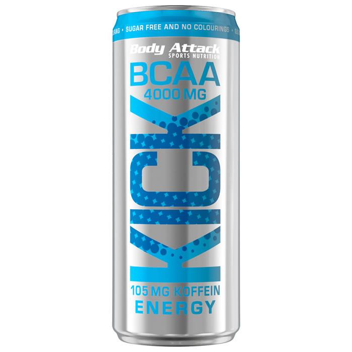 Body Attack BCAA KICK, Energy (330 ml)