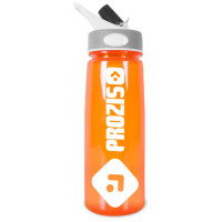 Prozis Handy Bottle kõrrega joogipudel, Oranž (600 ml)