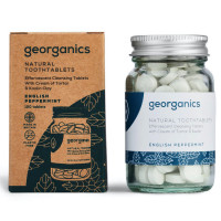 Georganics hambapesu tabletid, Metsiku inglise piparmündiga (120 tk - 3 kuu varu)