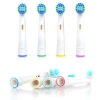 Elektrilistele hambaharjadele mõeldud otsikud (4 tk)