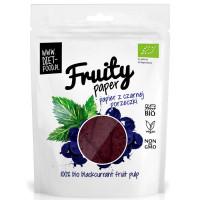 Diet Food Bio Fruity Paper orgaanilised marjakrõpsud, Mustsõstra (25 g)