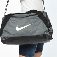 Nike Brasilia Small Duffel Bag BA5335 spordikott, Must/hall (S)