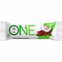 OhYeah! Nutrition ONE Bar valgubatoon, Mandli (60 g)