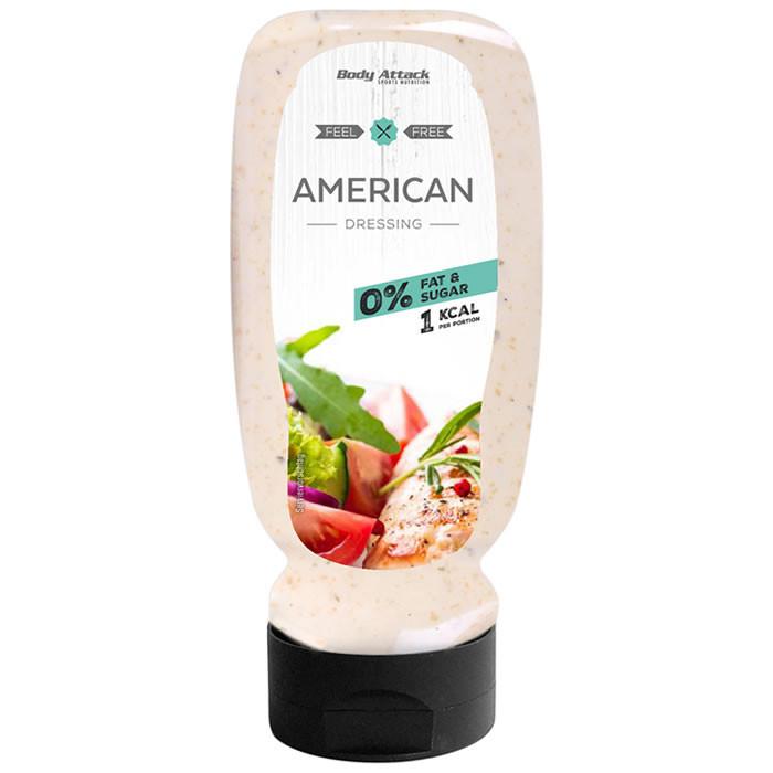 Body Attack kalorivaba kaste, American Dressing (320 ml)
