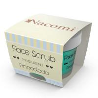 Nacomi Face & Lip Scrub koorija näole ja huultele, Moisturizing Pina Colada (80 g)