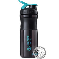 BlenderBottle Sportmixer Grip šeiker-joogipudel, Black Teal (820 ml)