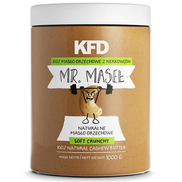 KFD 100% india pähklivõi, Soft crunchy (1000 g)