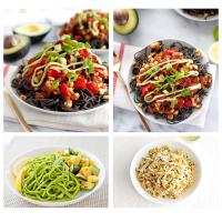 Diet Food Organic Green Soybean Pasta Fettucine sojaoa pasta, Roheline (200 g)