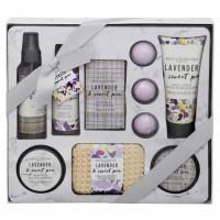Body Collection Lavender & Sweet Pea kehahooldustoodete komplekt