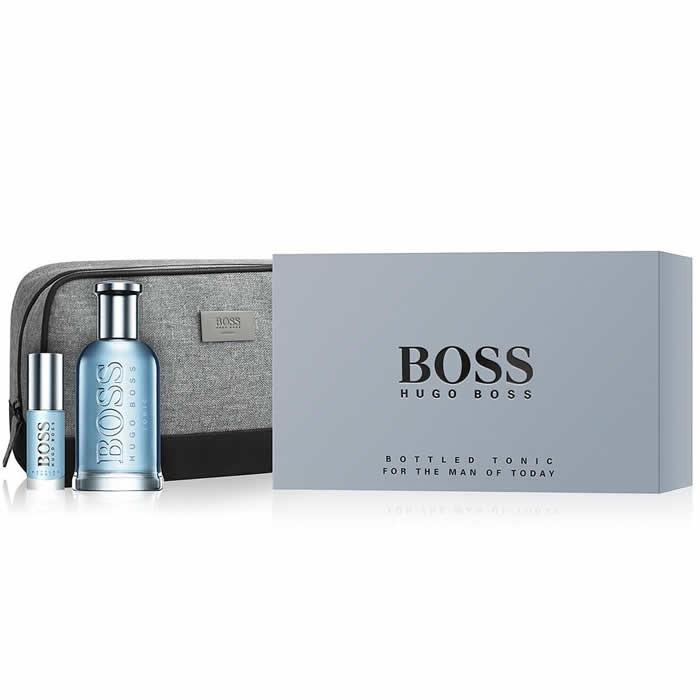 Hugo Boss Bottled Tonic Set EDT (100 ml) + EDT (10 ml) + bag