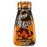 6PAK Syrup Zero siirup, Šokolaad karamelliga (500 ml)