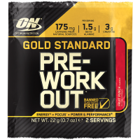 Optimum Nutrition Gold Standard Pre Workout, Fruit Punch (22 g)