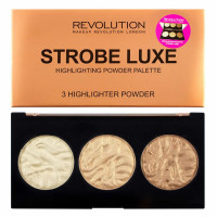 Makeup Revolution Strobe Highlighter palett, Luxe (11.5 g)