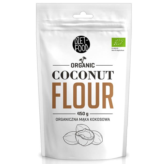 Diet Food Organic Coconut Flour kookosjahu (450 g)