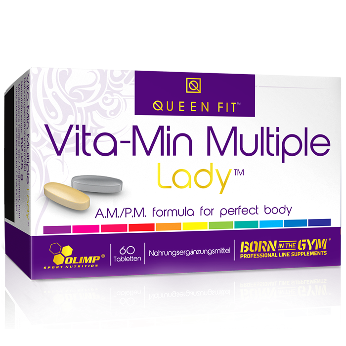Olimp Queen Fit Vita-Min Multiple Lady - vitamiinid naistele (40 tk)