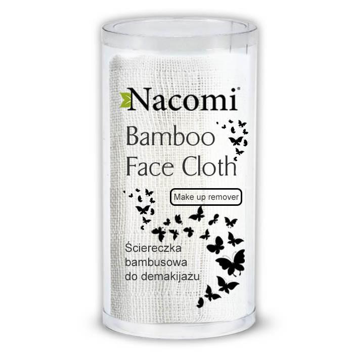 Nacomi bambusest meigieemaldusrätik