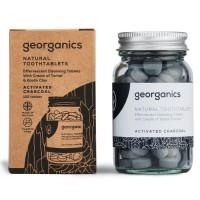 Georganics hambapesu tabletid, Valgendava aktiivsöega (120 tk - 3 kuu varu)