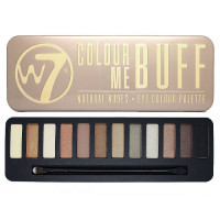 W7 Colour Me Buff Natural Nudes lauvärvipalett (15.6 g)