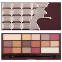 Makeup Revolution I Heart Makeup lauvärvipalett, Chocolate Elixir (22 g)