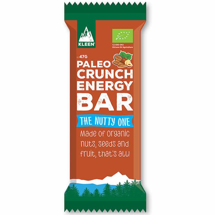 Kleen Paleo Crunch Energy Bar proteiinibatoon, The Nutty One (47 g)