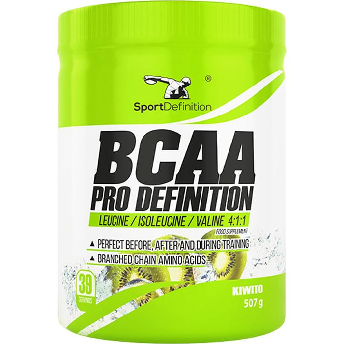 Sport Definition BCAA Pro Definition (4:1:1 instant + Beta-Alanine), Kiivi (507 g). Parim enne 06.2019