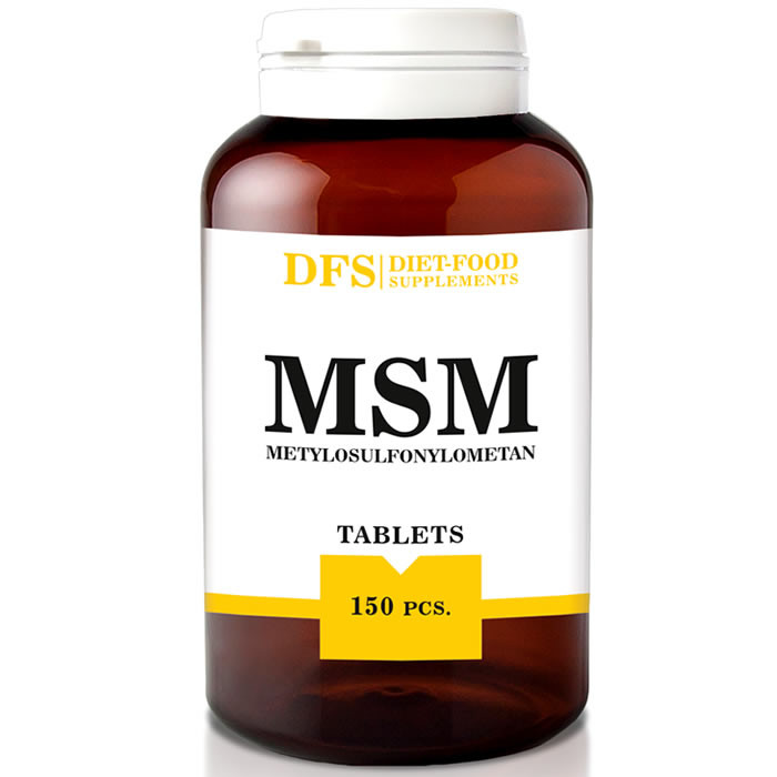 Diet Food MSM tabletid (150 tk)