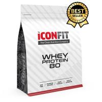 ICONFIT Whey Protein 80, Šokolaadi-STEVIAGA (1 kg)