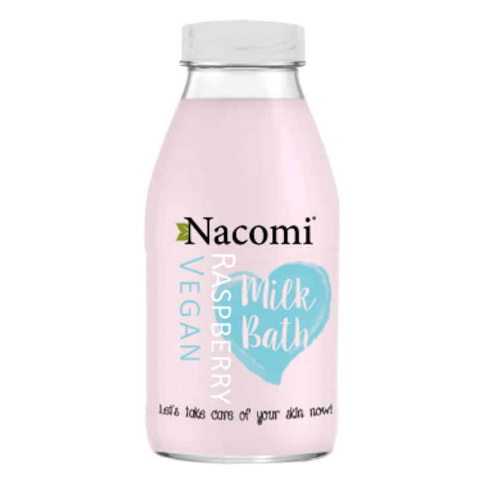 Nacomi Bath Milk vannipiim, Vaarika (300 ml)