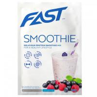 Fast Protein Smoothie Mix, Mustika-vaarika (30 g)