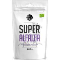 Diet Food Bio Super Alfaalfa orgaaniline lutsernipulber (100 g)