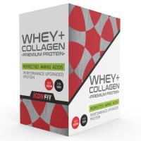 ICONFIT WHEY+ Collagen Premium Protein karp, Vanilje (10 x 25 g)