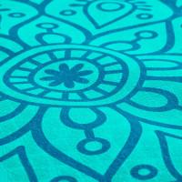 Spokey Mandala võimlemismatt, Sinine (4 mm)