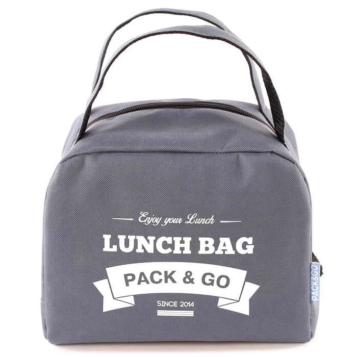 Lunch Bag ZIP termokott, Hall