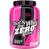 Sport Definition That's The Whey ZERO [THAT'S FOR HER] aminohapetega valgupulber, Vanilje (1.2 kg). Parim enne 09.2019