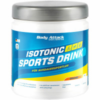 Body Attack Isotonic Sports Drink Powder, Sidruni (400 g)