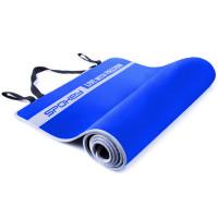 Spokey Flexmat V võimlemismatt, Sinine (0.6 cm)