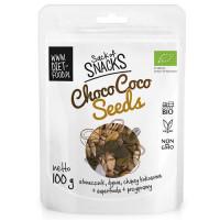 Diet Food Bio ChocoCoco Seeds orgaaniline tervisesegu kakaoga (100 g). Parim enne 01.03.2019