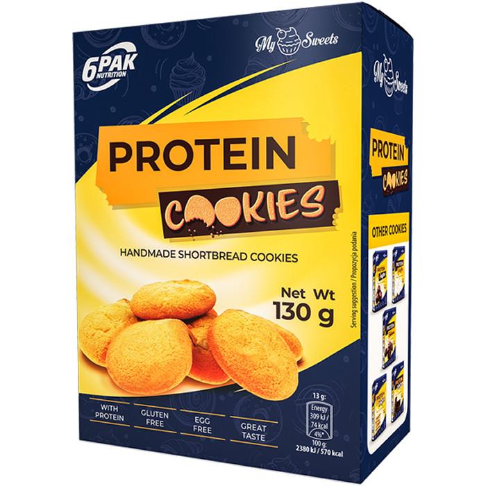 6PAK Protein Cookies proteiiniküpsised (130 g)