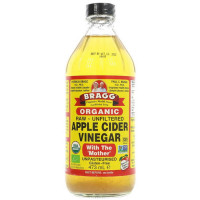 Bragg Apple Cider Vinegar w/Mother orgaaniline õunaäädikas (473 ml)