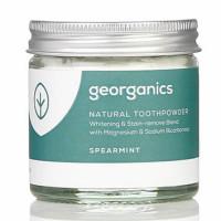 Georganics looduslik hambapulber, Rohemünt (60 ml)