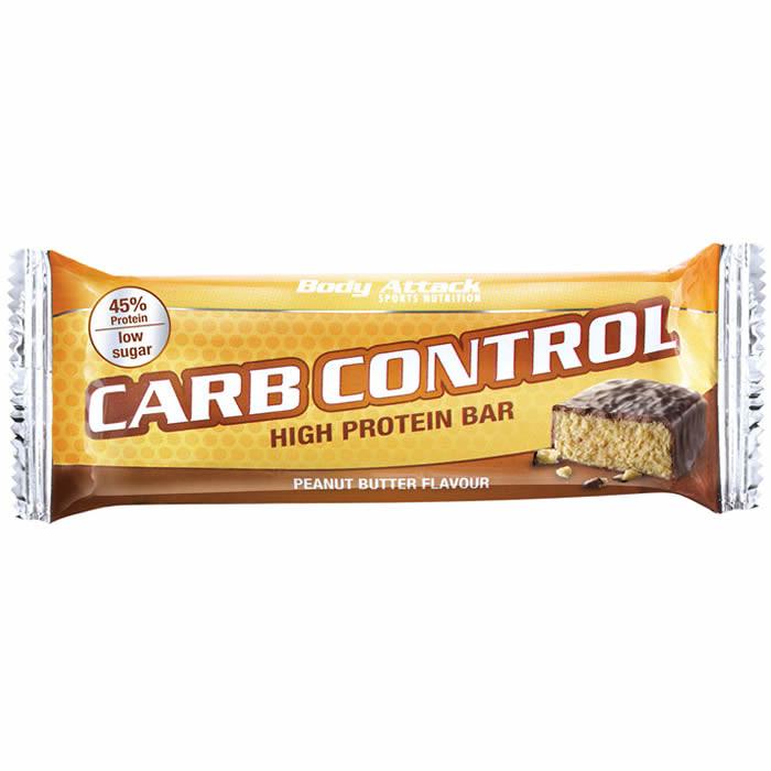 Body Attack Carb Control valgubatoon, Pähklivõi (100 g)