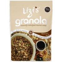 Lizi's Melassi ja pekaanipähkli Granola Röstitud hommikusöögihelbed (400 g)