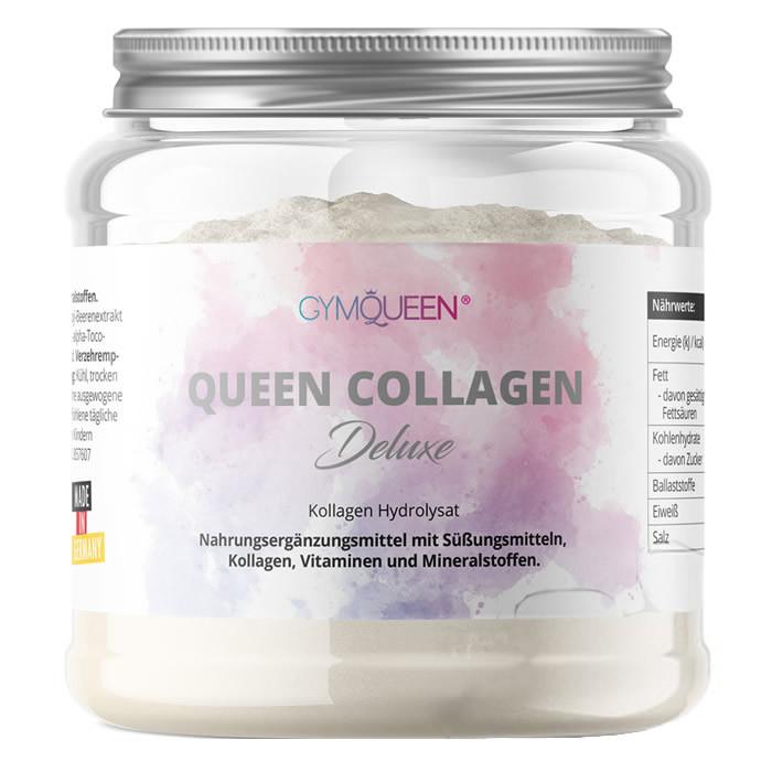 GymQueen Collagen Deluxe kollageenipulber (300 g)