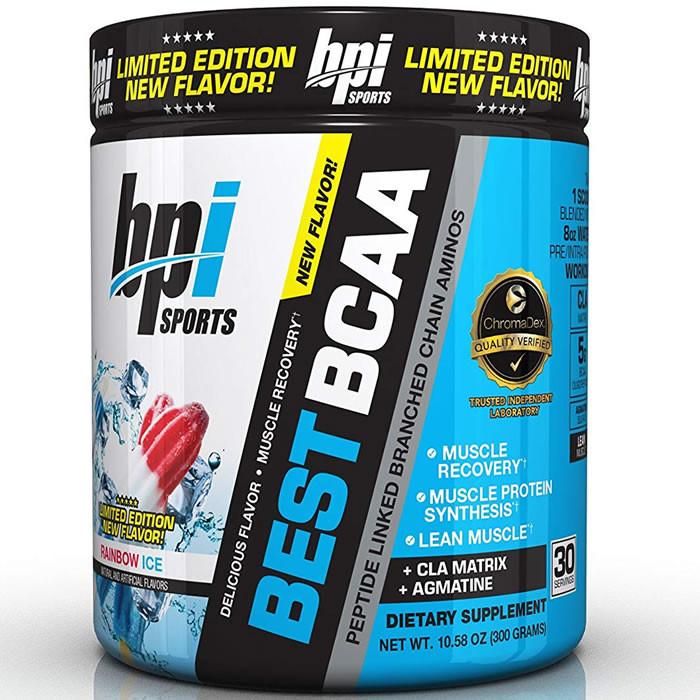 BPI Sports Best BCAA, Rainbow Ice (300 g)