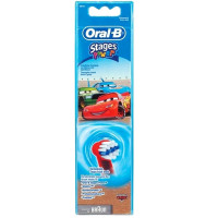 BRAUN Oral-B Extra Soft Stages Power lisaharjad lastele, Cars (4 tk)