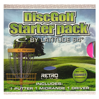 Latitude64 Retro Junior/Beginner discgolfi stardikomplekt